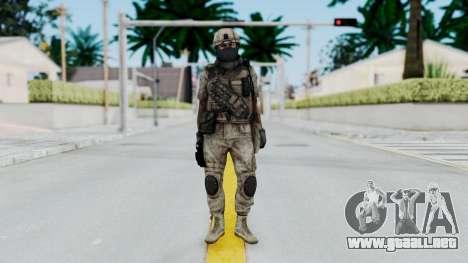 Crysis 2 US Soldier 7 Bodygroup B para GTA San Andreas segunda pantalla