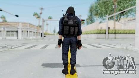 GIGN 2 No Mask from CSO2 para GTA San Andreas tercera pantalla