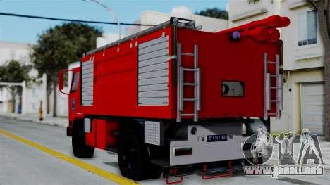 FAP Serbian Fire Truck para GTA San Andreas left