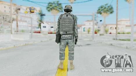 Acu Soldier 1 para GTA San Andreas tercera pantalla