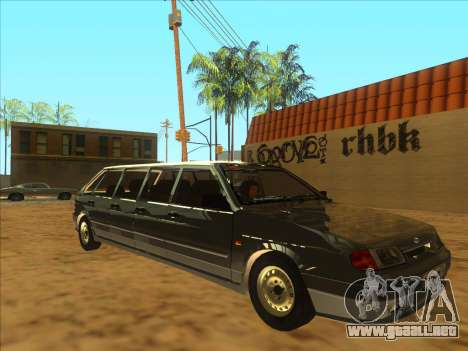VAZ 2114 9-door para GTA San Andreas left