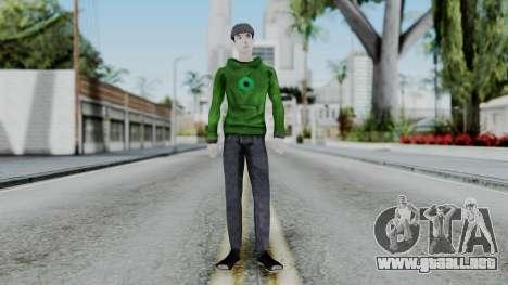 Jacksepticeye para GTA San Andreas segunda pantalla