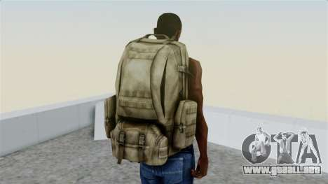 Arma 2 Coyote Backpack para GTA San Andreas tercera pantalla