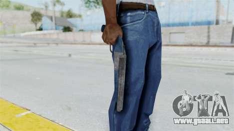 Double Barrel Shotgun LSPD Tint (Lowriders CC) para GTA San Andreas tercera pantalla