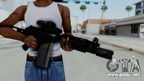 FN FAL DSA para GTA San Andreas tercera pantalla