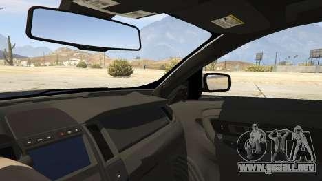 GTA 5 Ford Taurus vista lateral trasera derecha