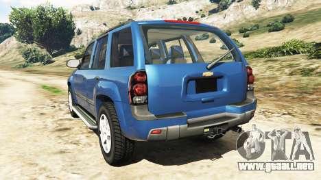 Chevrolet TrailBlazer para GTA 5