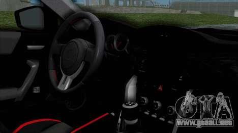 Toyota GT-86 Rocket Bunny para la visión correcta GTA San Andreas