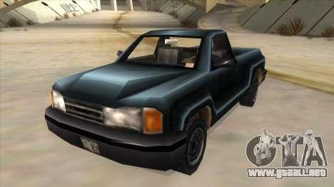 GTA III Bobcat Original Style para GTA San Andreas