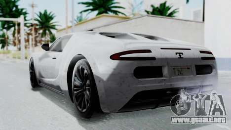 GTA 5 Truffade Adder v2 IVF para GTA San Andreas left
