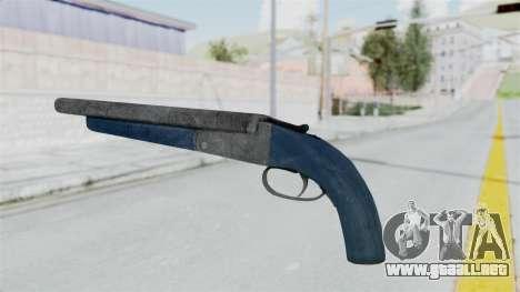 Double Barrel Shotgun LSPD Tint (Lowriders CC) para GTA San Andreas segunda pantalla