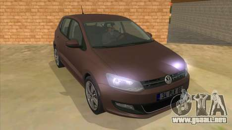 Volkswagen Polo 6R 1.4 para GTA San Andreas vista hacia atrás