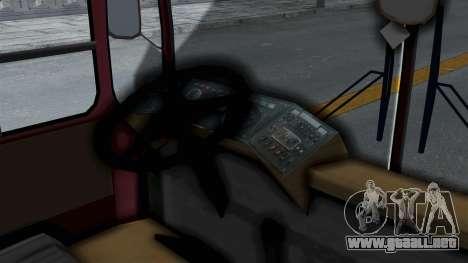DAC 112 Udm para GTA San Andreas vista posterior izquierda