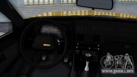 Toyota Celica Supra Mk2 para la visión correcta GTA San Andreas