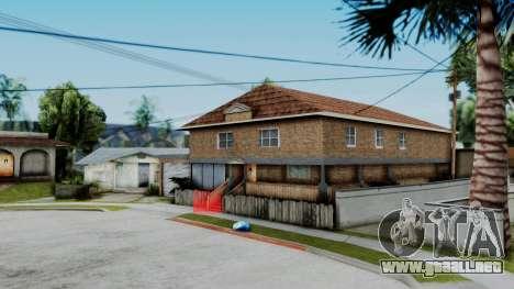 Nueva textura en casa Se v2 (interior) para GTA San Andreas
