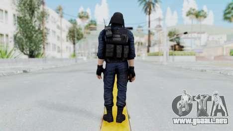 GIGN 2 Masked from CSO2 para GTA San Andreas tercera pantalla
