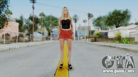 GTA 5 Hooker 01 v1 para GTA San Andreas segunda pantalla