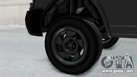Vapid Speedo Newsvan para la visión correcta GTA San Andreas