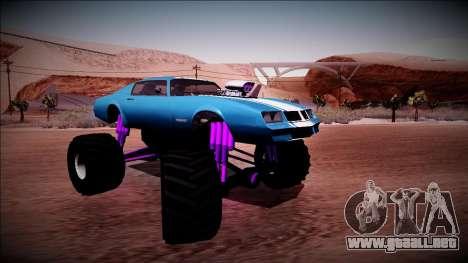 GTA 5 Imponte Phoenix Monster Truck para la visión correcta GTA San Andreas