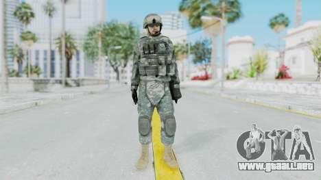 Acu Soldier 1 para GTA San Andreas segunda pantalla