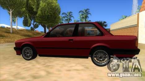 BMW M3 E30 1991 para GTA San Andreas left