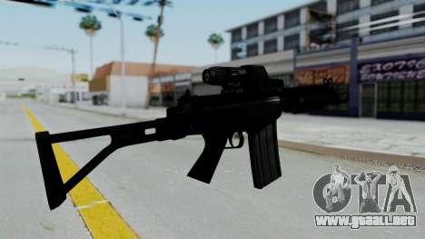 FN FAL DSA para GTA San Andreas segunda pantalla