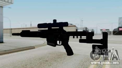 McMillan CS5 No Bipod para GTA San Andreas segunda pantalla