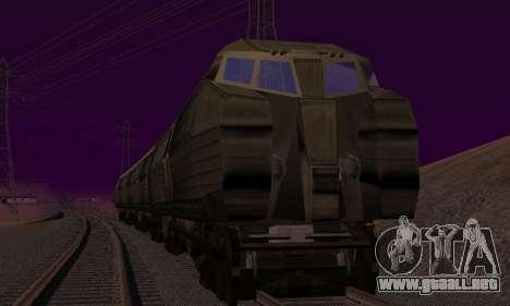 Batman Begins Monorail Train v1 para la visión correcta GTA San Andreas