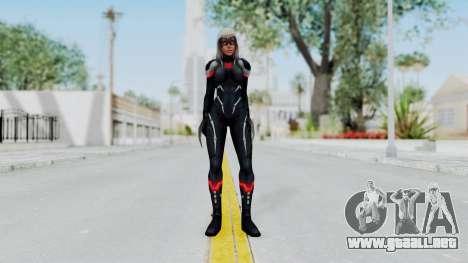 Marvel Future Fight - Black Widow (2099) para GTA San Andreas segunda pantalla