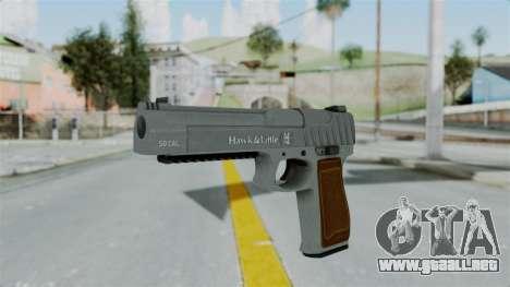 GTA 5 Pistol .50 para GTA San Andreas segunda pantalla