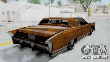 Vinilo de Óxido de Remington para GTA San Andreas left