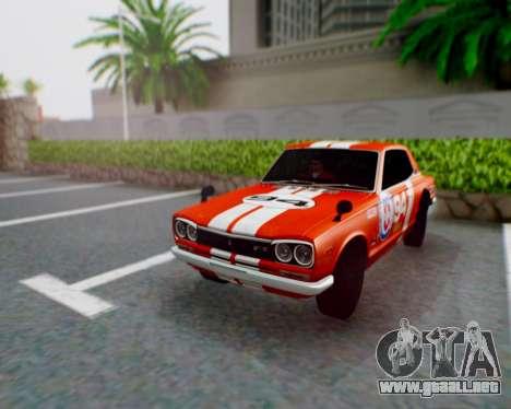 Nissan 2000GT-R [C10] Tunable para GTA San Andreas left