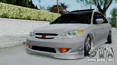 Honda Civic 2002 Model Vtec1 para GTA San Andreas