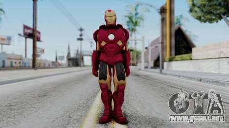 Ironman Skin para GTA San Andreas segunda pantalla