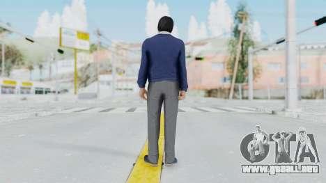 GTA 5 Michael De Santa para GTA San Andreas tercera pantalla
