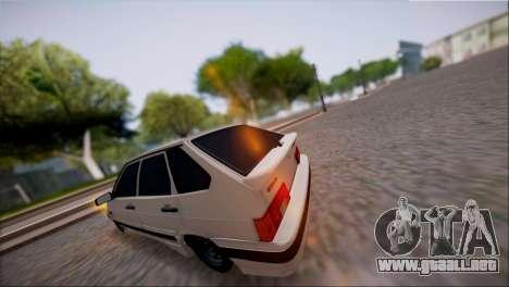 VAZ Lada 2114 para GTA San Andreas vista posterior izquierda