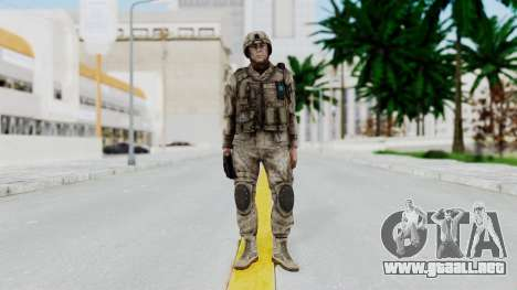 Crysis 2 US Soldier 4 Bodygroup A para GTA San Andreas segunda pantalla
