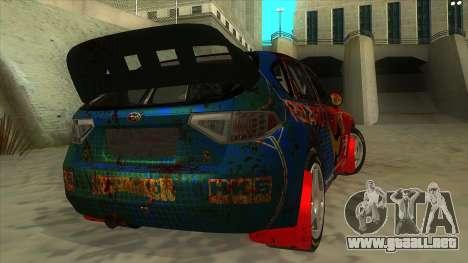 Subaru Impreza WRX STi 2011 ,,Response,, para la visión correcta GTA San Andreas