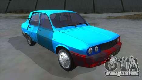 Dacia 1310 Rusty para GTA San Andreas vista hacia atrás