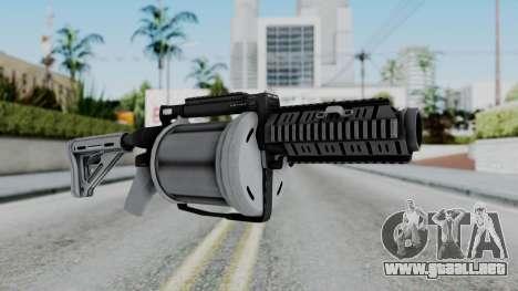 GTA 5 Grenade Launcher - Misterix 4 Weapons para GTA San Andreas