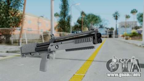 GTA 5 Bullpup Shotgun - Misterix 4 Weapons para GTA San Andreas