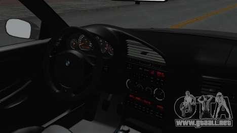 BMW M3 E36 Widebody para la visión correcta GTA San Andreas