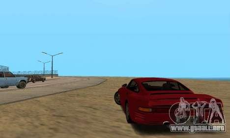 Porsche 959 para la visión correcta GTA San Andreas