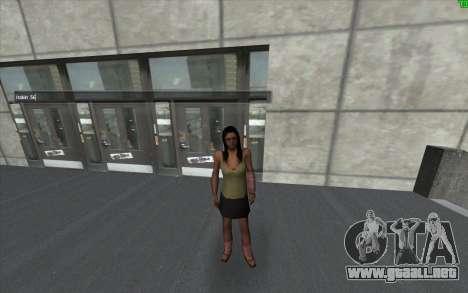 Un cambio visual de la piel para GTA San Andreas tercera pantalla