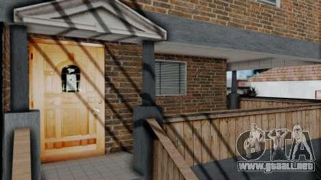 Nueva textura en casa Se v2 (interior) para GTA San Andreas tercera pantalla