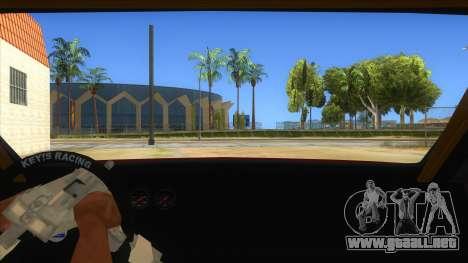 GTA V Sentinel RS MKII para visión interna GTA San Andreas