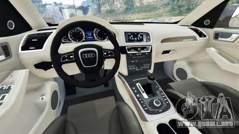 GTA 5 Audi Q5 2015 vista lateral trasera derecha