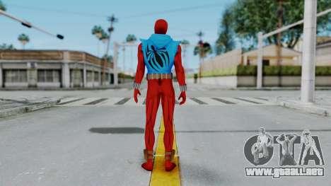 Scarlet Spider Ben Reilly para GTA San Andreas tercera pantalla