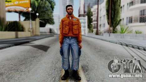 CS 1.6 Hostage 01 para GTA San Andreas segunda pantalla