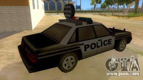 Police Car from Manhunt 2 para la visión correcta GTA San Andreas